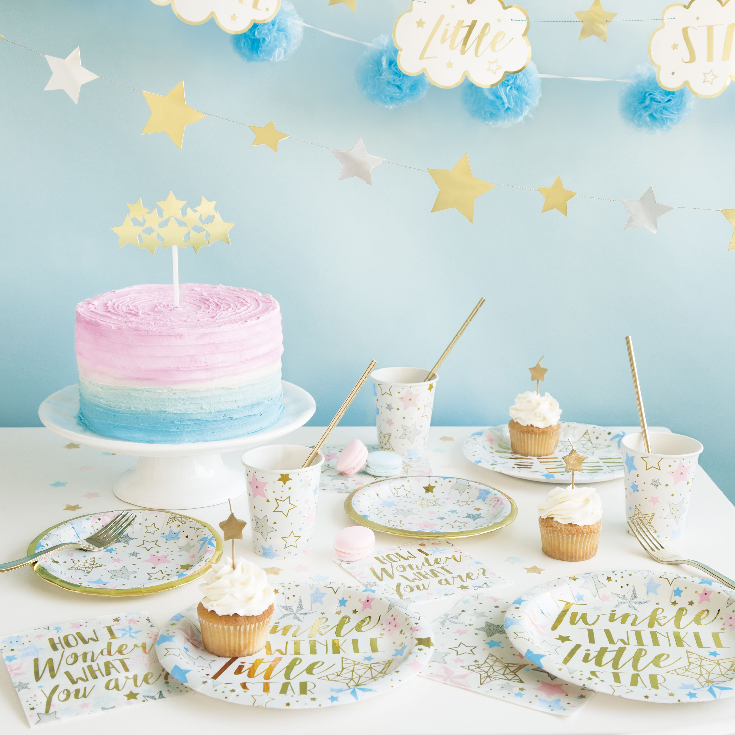 Pin By Katie Harris On Gender Reveal In 2020 Star Baby Showers Twinkle Twinkle Little Star Baby Shower Balloons