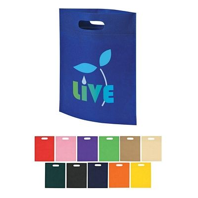 Customized Heat Sealed Non Woven Exhibition Tote Bag Promotional Heat Sealed Non Woven Exhibition Tote Bag Promotional Polypropylene Tote Bags Promotional Bags Non Woven Bags Personalized Tote Bags