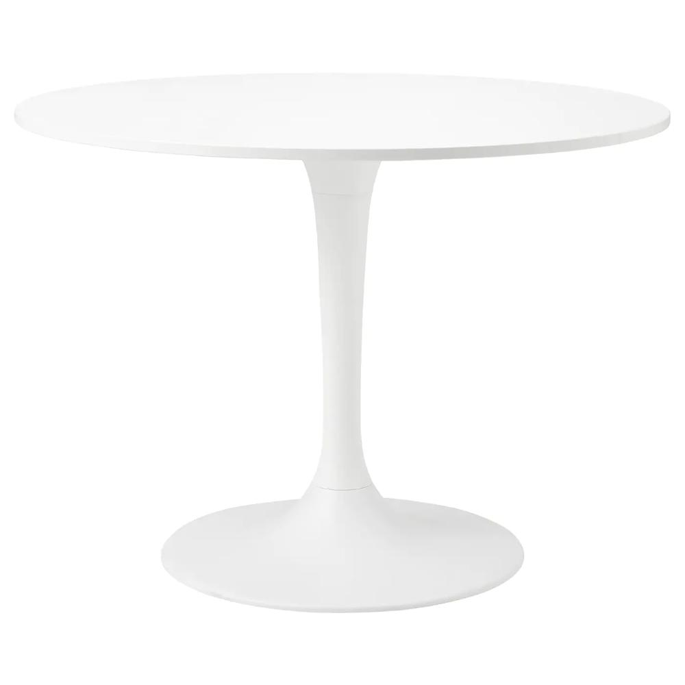 Docksta Table White White Ikea In 2020 White Round Dining Table Circle Dining Table Ikea Table