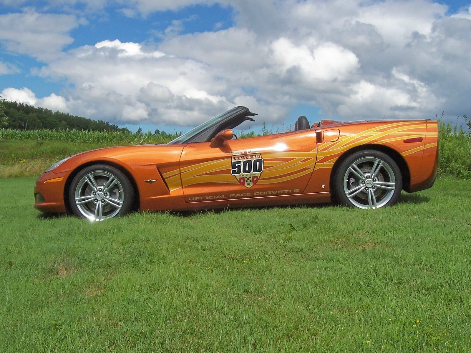 2007 corvette indy 500 pace car corvette chevy corvette