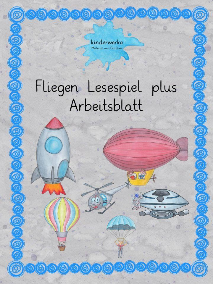 Lesespiel und Arbeitsblatt – DaZ / DaF, Deutsch   Pinterest ...