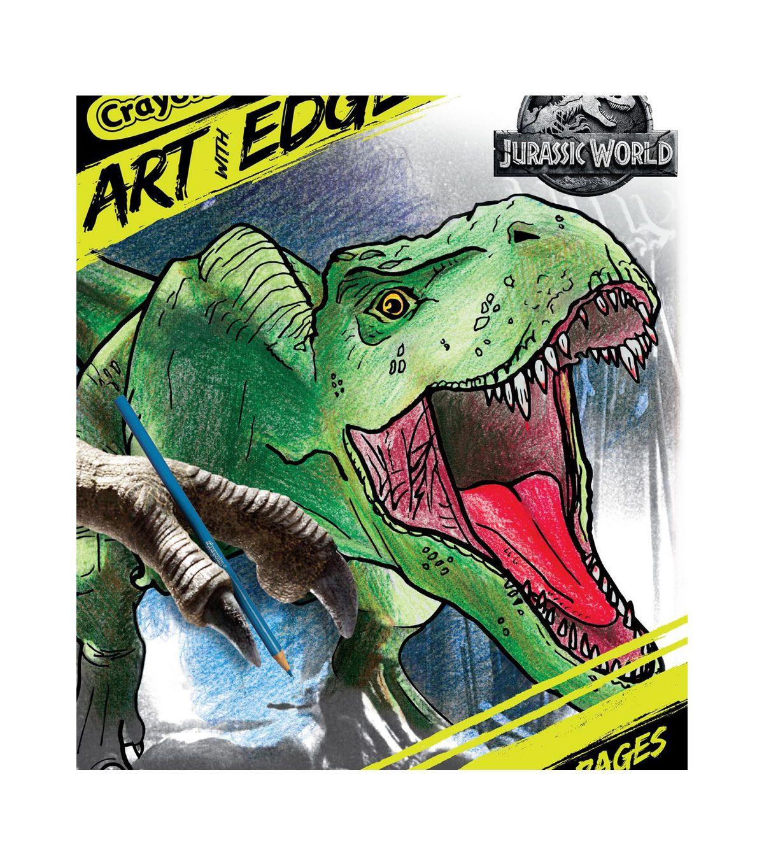Crayola Art W Edge Coloring Book Jurassic World Ii Toy Story Coloring Pages Crayola Art Coloring Books