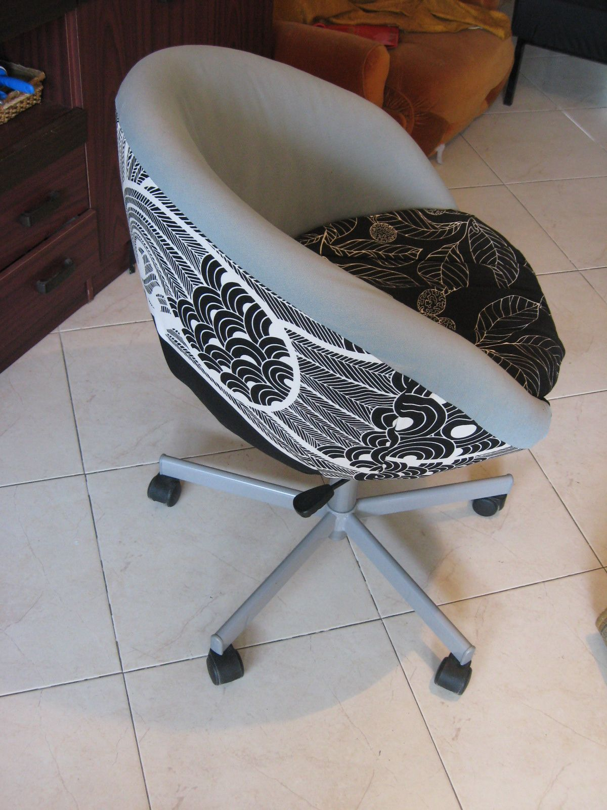 office chair makeover. IKEA Skruvsta Office Chair Makeover Wow .. Its Amazing What You Can Find While Searching Out Images For Cosmetic Dentistry And More H