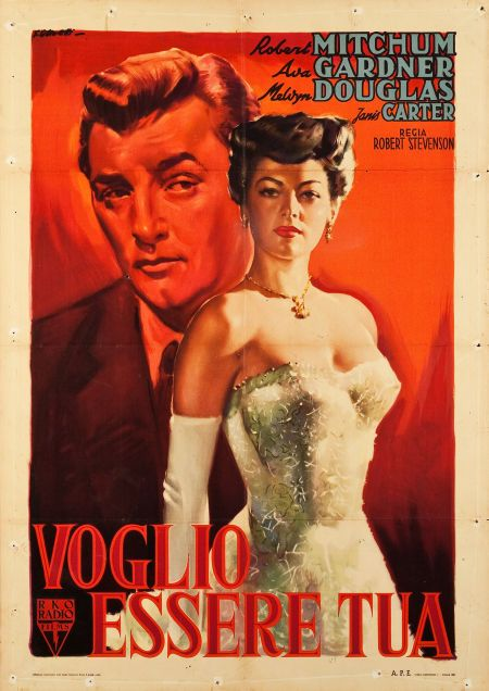 My Forbidden Past Rko 1951 Italian 2 Foglio 39 Old Movie Posters Classic Movie Posters Film Posters Vintage