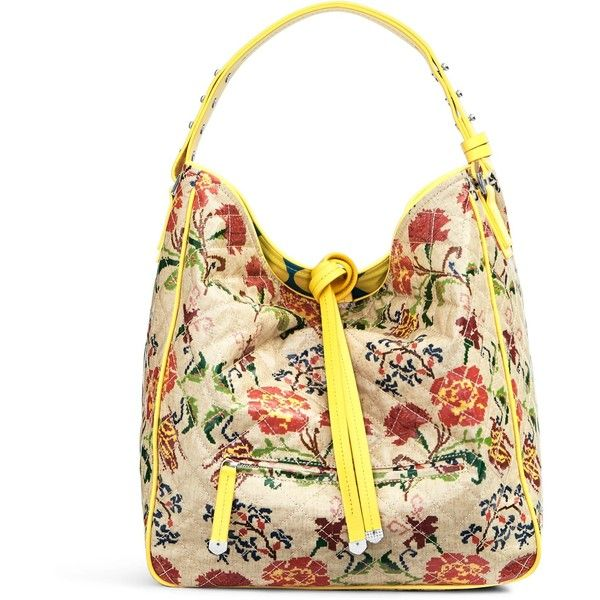 Vera Bradley Fenwick Hobo Bag 200 Liked On Polyvore Featuring Bags