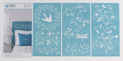 Stencil For Side Of Kitchen Table Plaque Beton Deco Diy