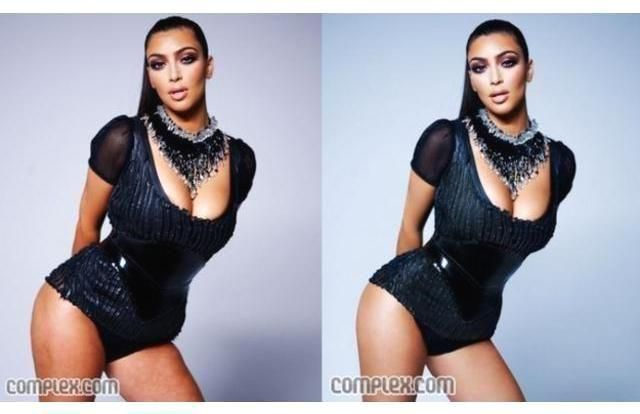 #4) - Stars  #Celeb  #Photos 42 Shocking Celeb Photos Before And After Photoshop (Slide