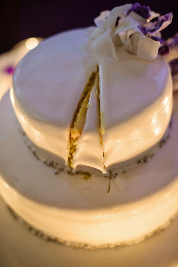 Wedding cake | Romantic Rome Garden wedding | Fab Mood