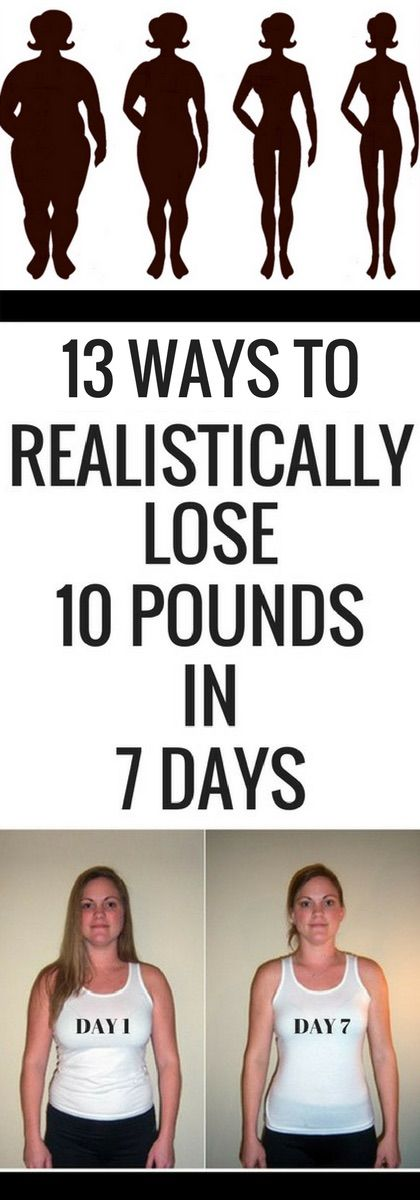 13 ways to realistically lose 10 pounds in 7 days health 13 ways to realistically lose 10 pounds in 7 days ccuart Gallery