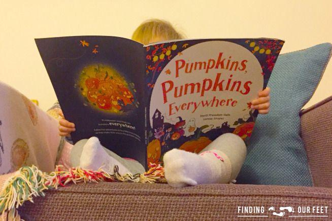 Pumpkins, Pumpkins Everywhere | Parragon books | findingourfeet.co.uk