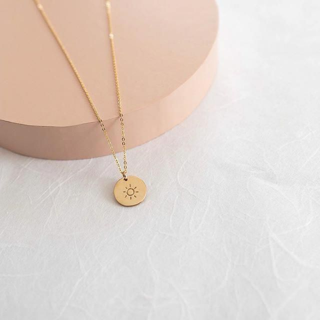 Photo of Dangling Diamond Necklace with Dangling Gold Disc in 14k Solid Gold / Diamond Choker / Gold Choker / Disc Choker / Rose Gold / White Gold – Fine Jewelry Ideas