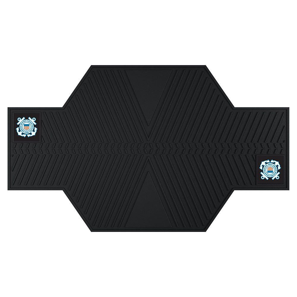 US Coast Guard Armed Forces Motorcycle Mat (82.5in L x 42in W)
