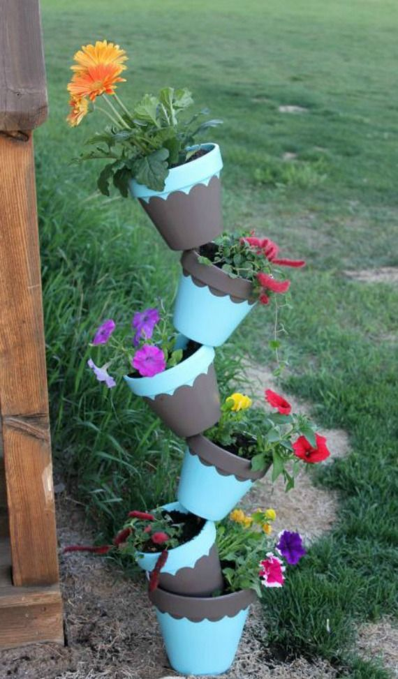Absolutely Amazing Topsy Turvy Planters You Must See Backyard