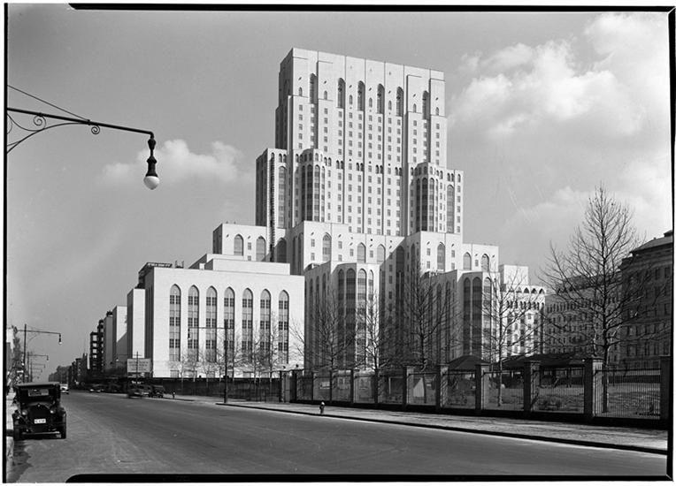 Art deco new york city new yorkpresbyterian hospital
