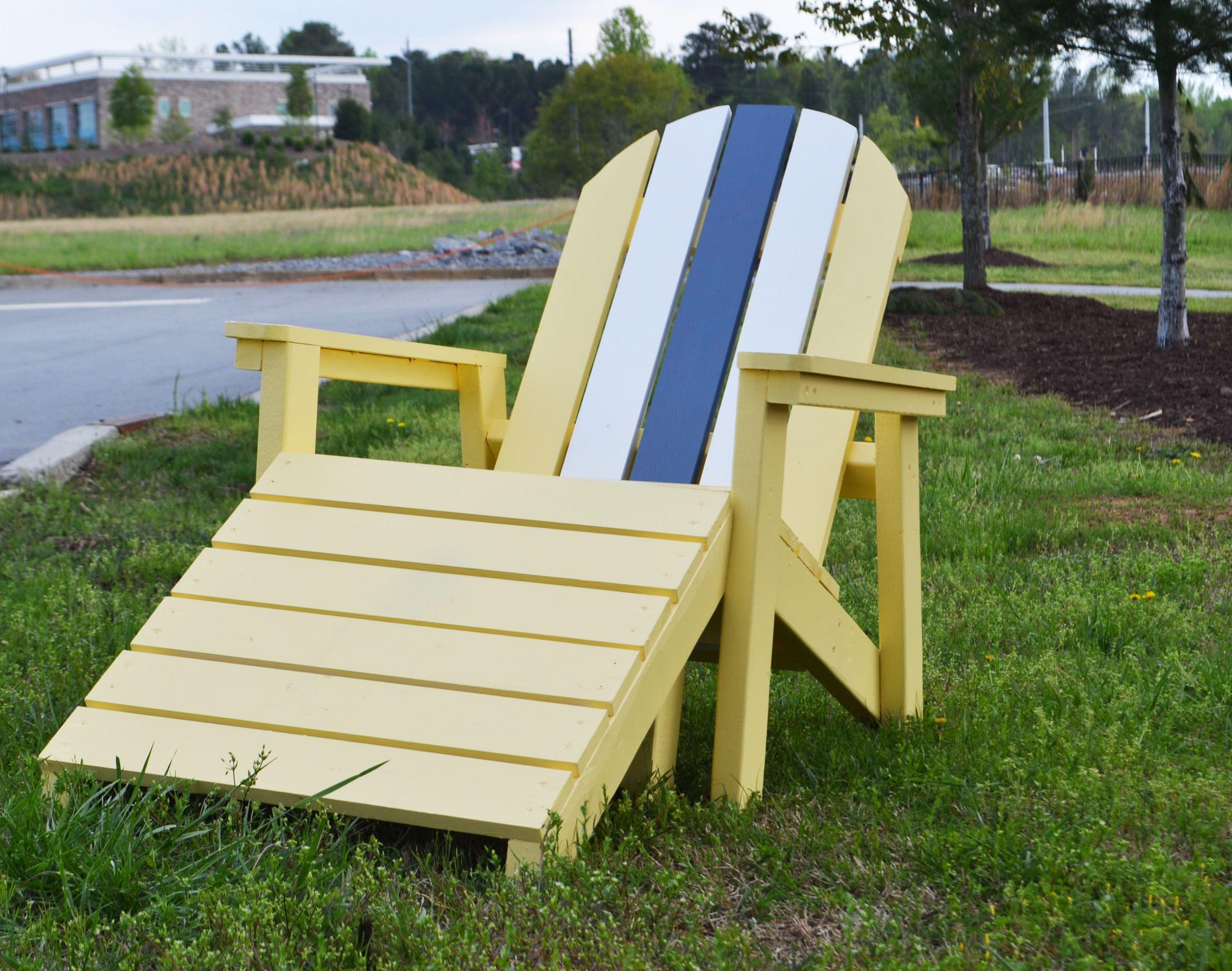 Home Depot Adirondack Footstool Diy furniture plans