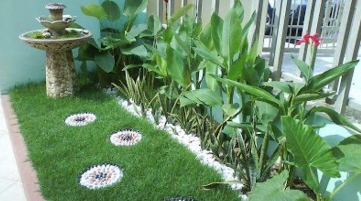 Desain Taman Rumah Kecil Minimalis Sederhana   Small ...