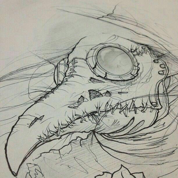 Kader Core Creepy Art Sketches Drawings