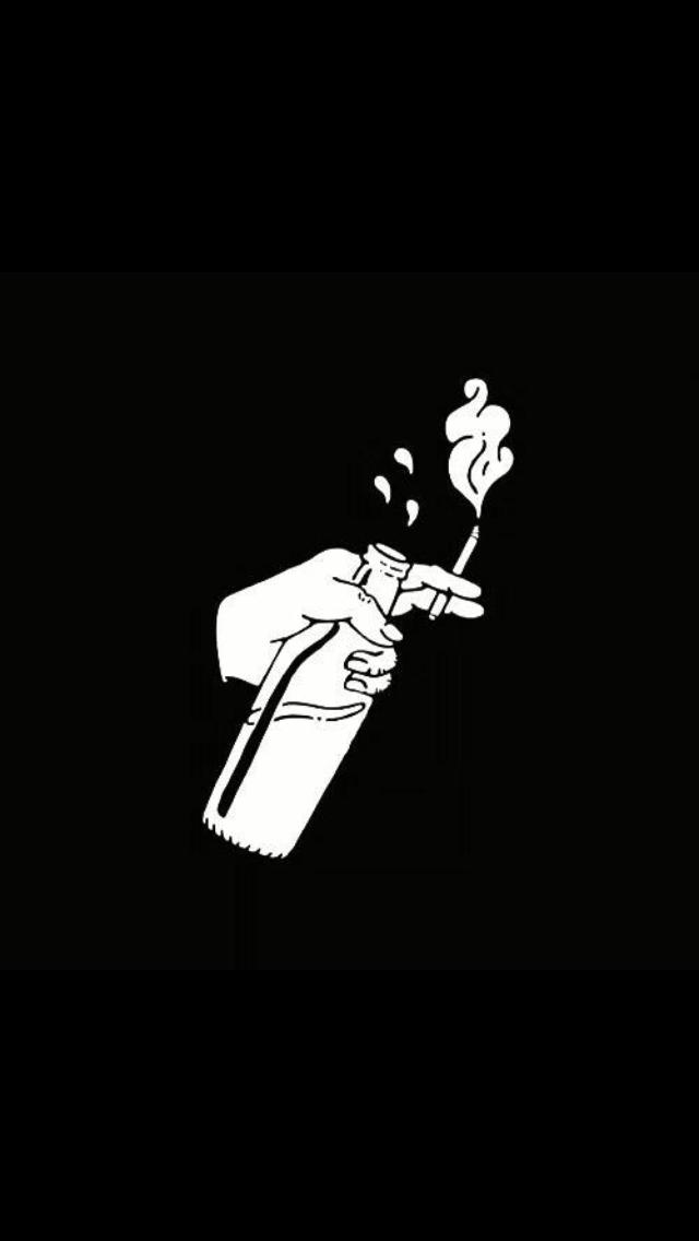 Only A Bottle Of Drink Can Make Me Calm Ilustrasi Poster Seni
