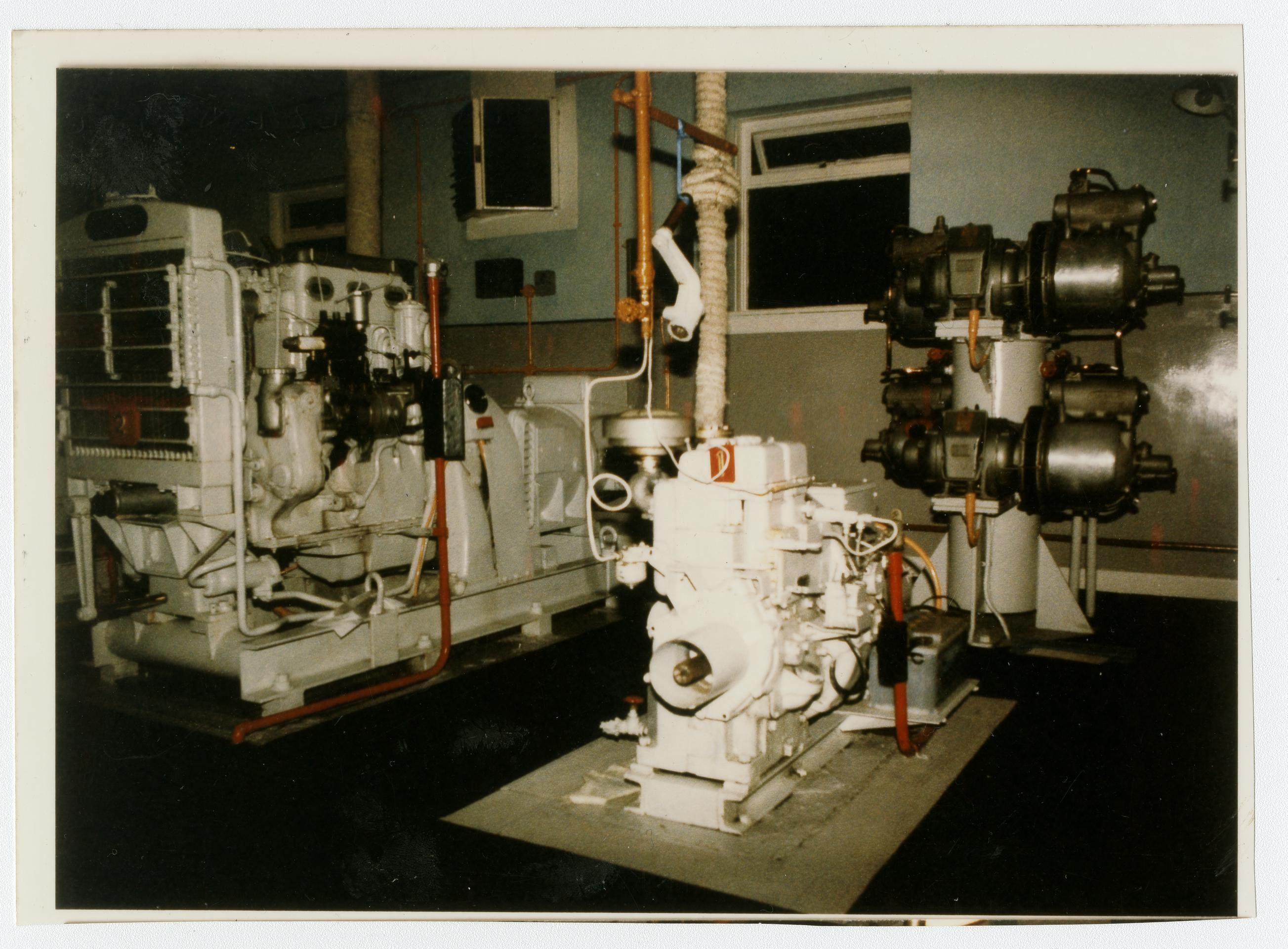 Calf Of Man Lighthouse Engine Room