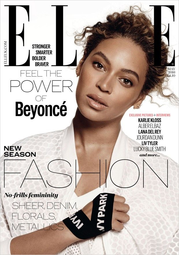 Beyonce Covers American and British ELLE May 2016
