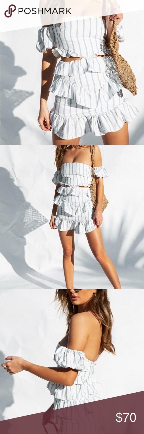 NWT Sabo Skirt Zula strapless dress