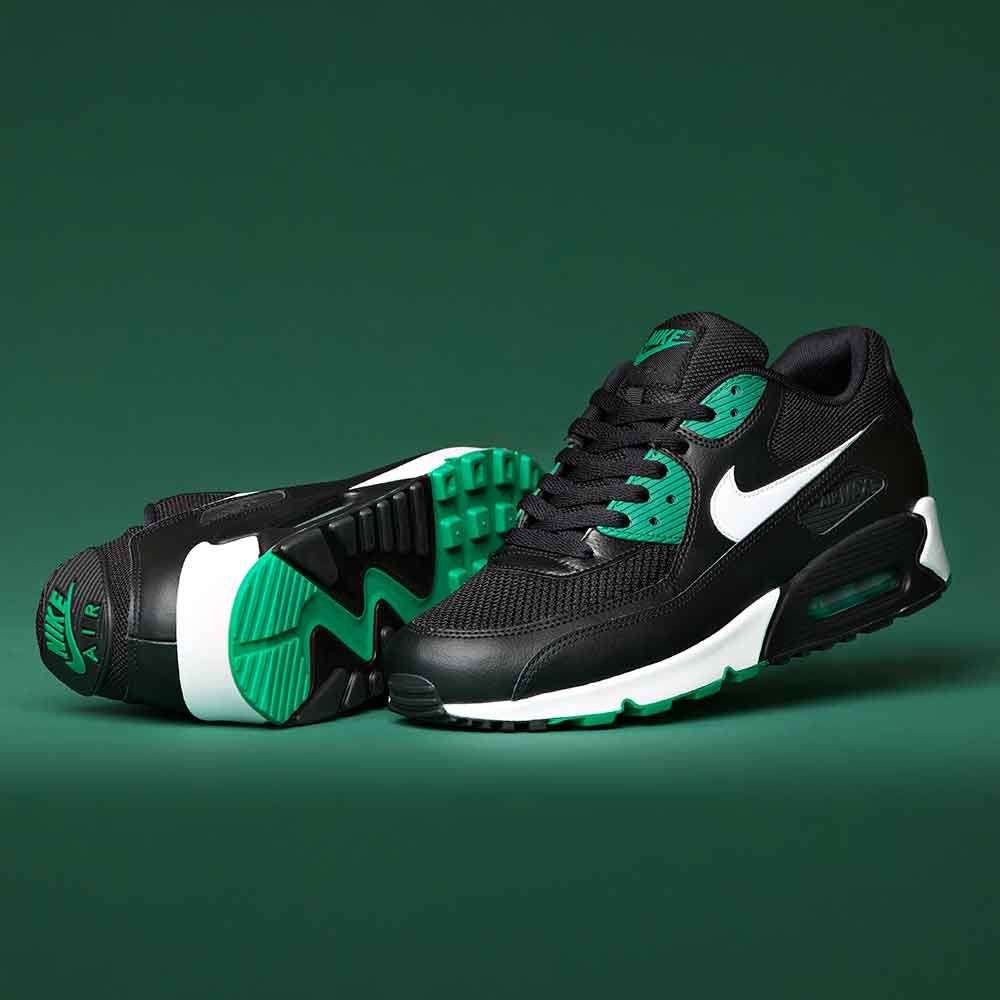 d93493144b5 Out Now - A new colour-way for the popular Nike Air Max 90 Essential  Trainer. Black