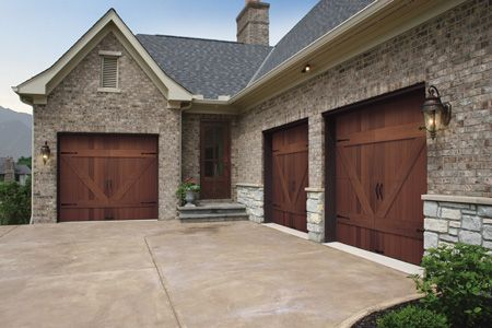 Carriage House Garage Door With Wood Beam Over And Corbels | House Design |  Pinterest | Carriage House Garage Doors, Carriage House Garage And Garage  Doors