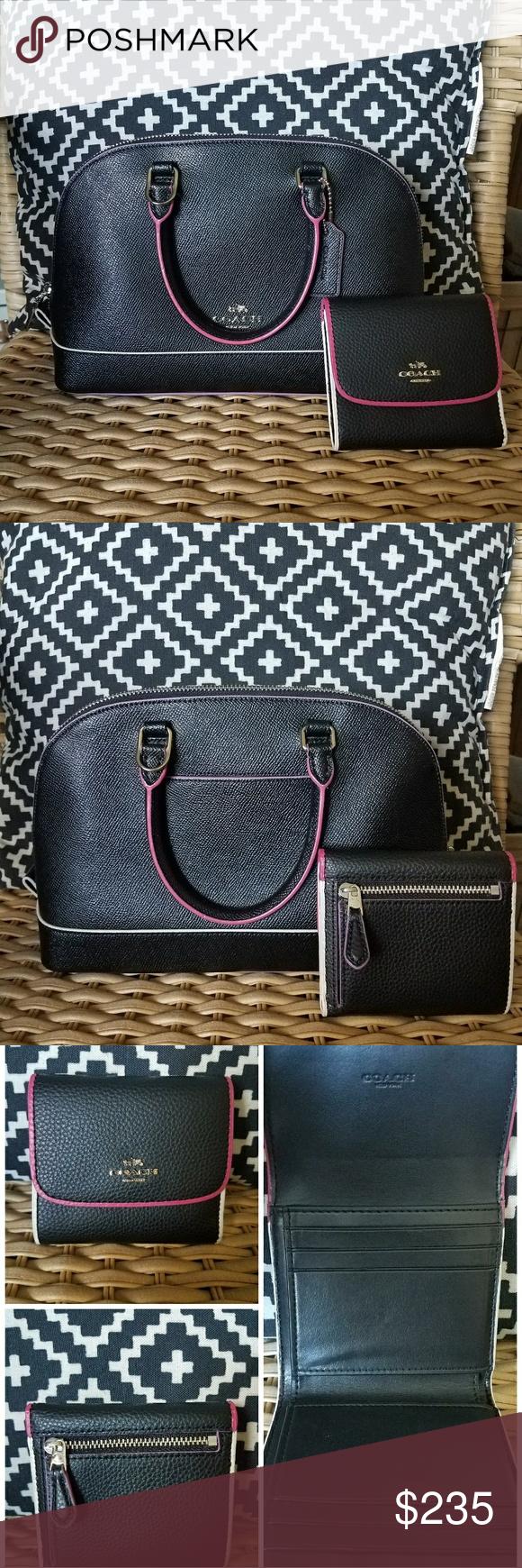 Coach Mini Sierra satchel with matching wallet | Coach ...