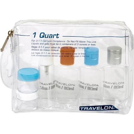 ed369f3a96a5 tsa approved toiletry kit - Google Search | Travel | Travel bottles ...