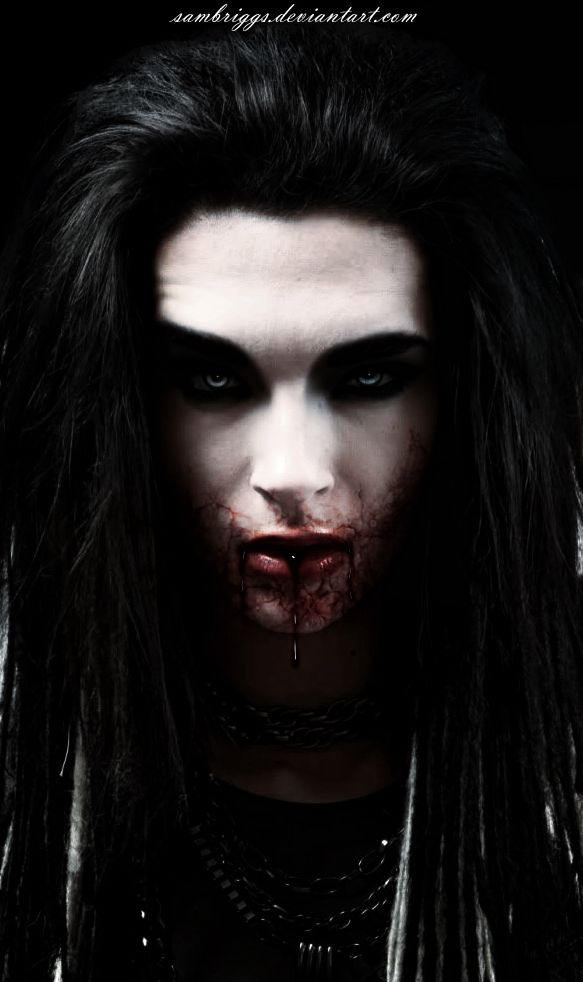 Pin by Elizabeth Simmons on Goth | Male vampire, Gothic ...