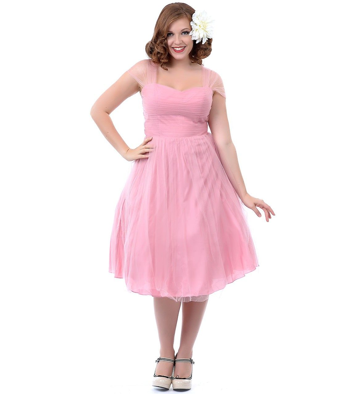 Vintage Plus Size Party Dresses