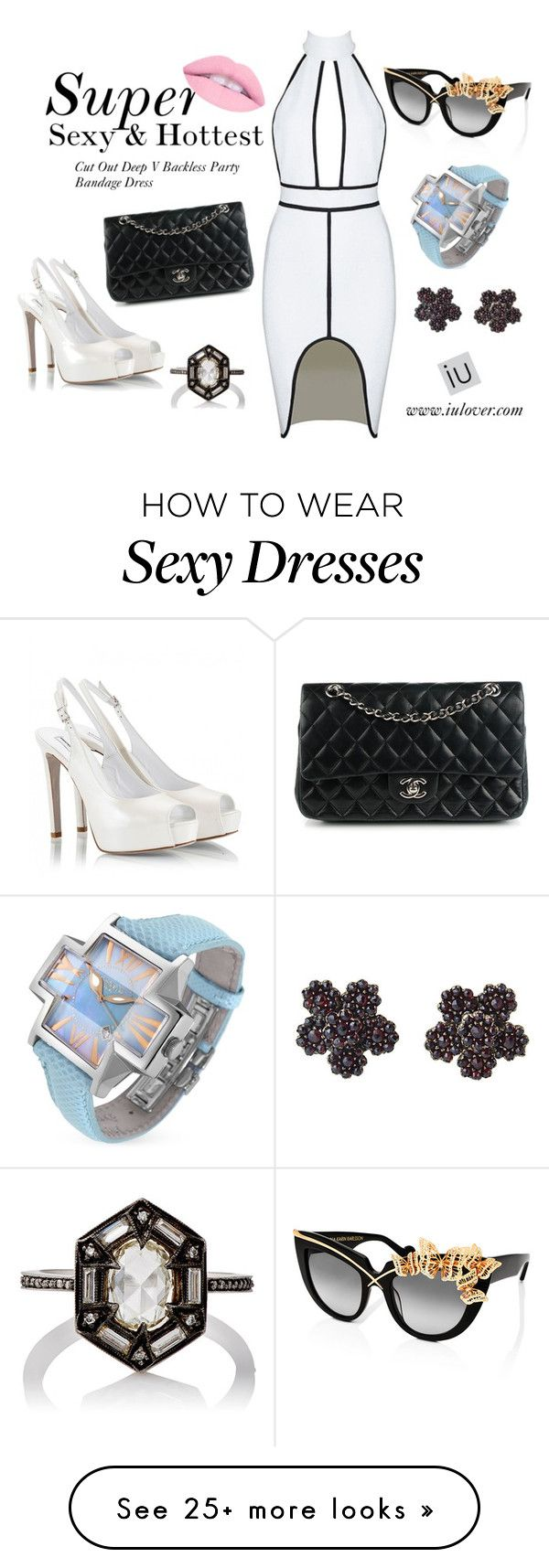 """Super sexy & hottest"" by iulover on Polyvore featuring Anna-Karin Karlsson, Fratelli Karida, Chanel, Cathy Waterman and Locman"