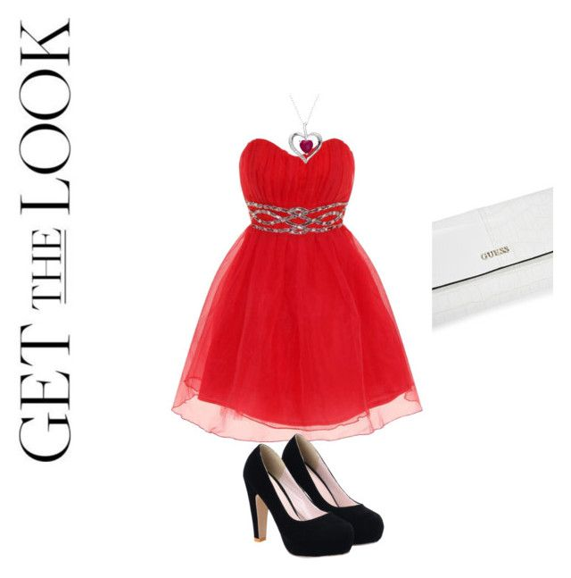 """Get the look contest"" by hanam73 ❤ liked on Polyvore featuring Dorothy Perkins, GUESS and contest"