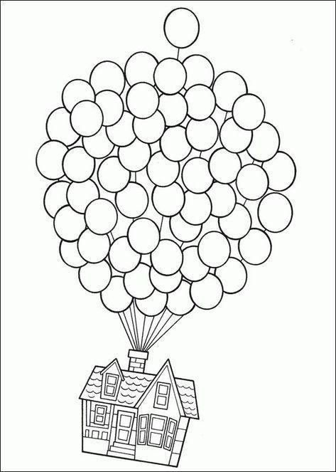 Pixar Up Coloring Page Http Designkids Info Pixar Up Coloring Page Html Desig Free Printable Coloring Pages Disney Coloring Pages Free Printable Coloring