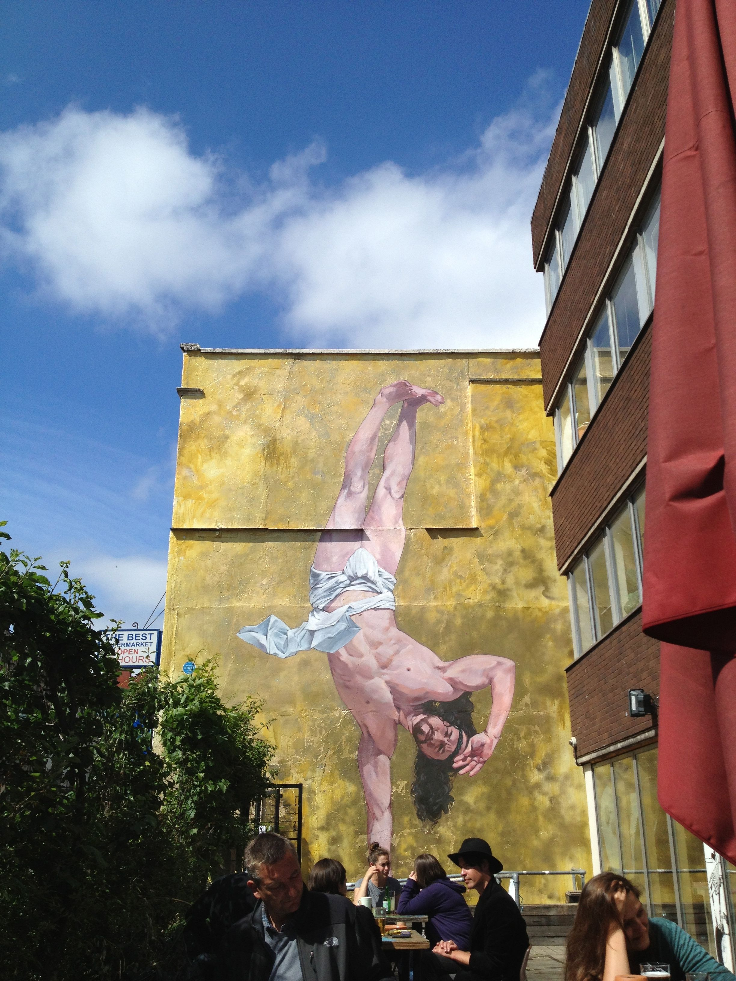Breakdancing jesus the lord of the dance by london