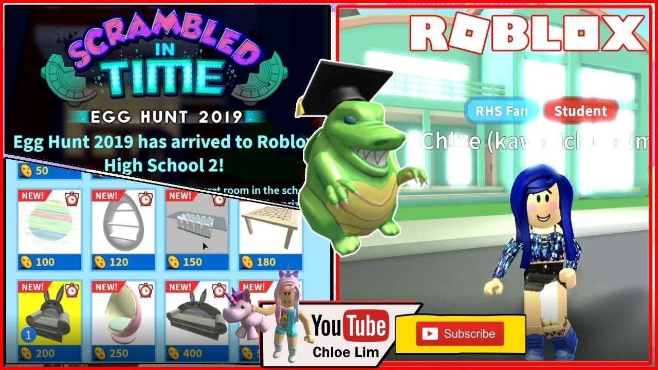 Roblox High School 2 Getting The Scaled Eggducator Egg Easter