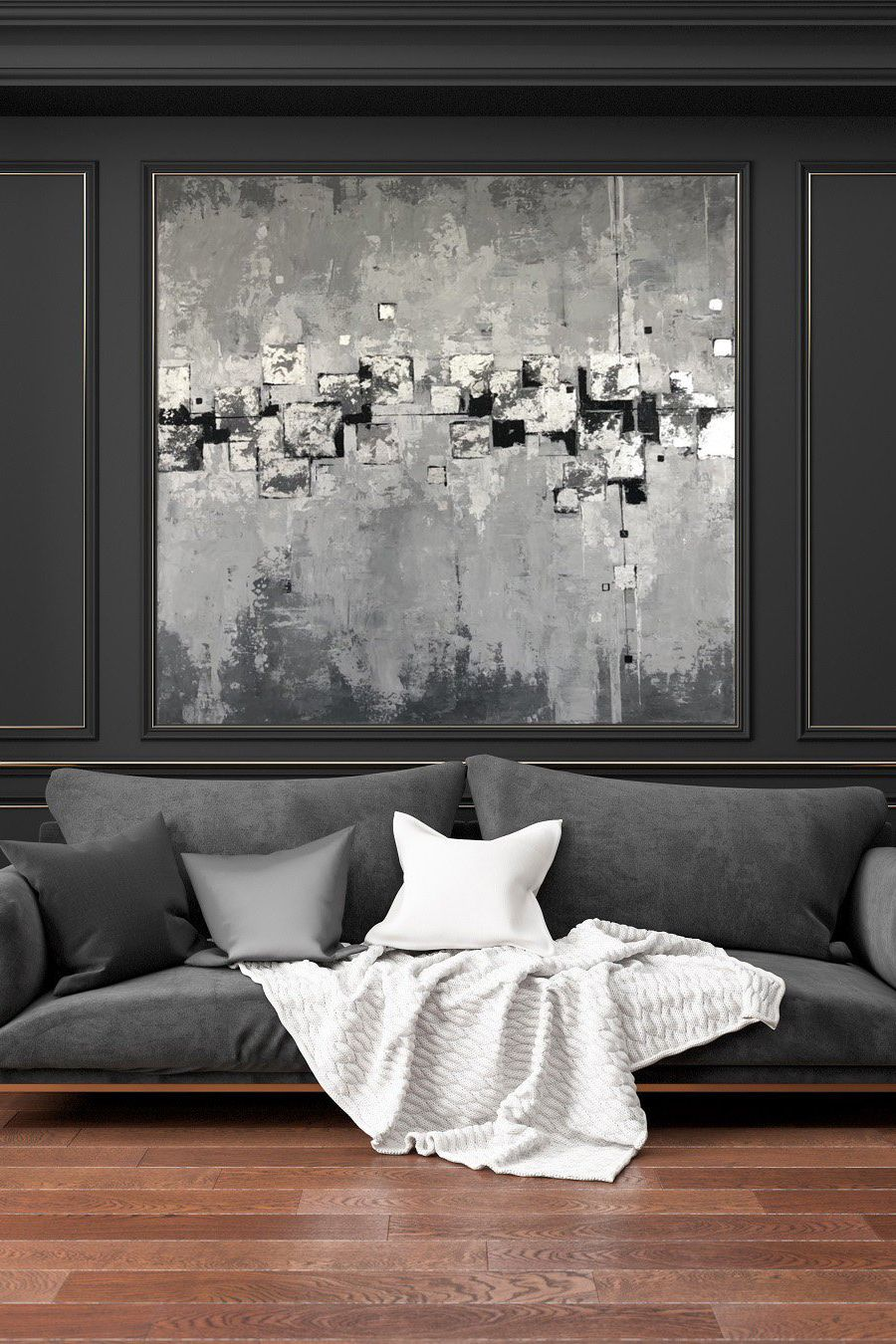 Extra Large Wall Art Canvas Black And White Canvas Wall Art Etsy Abstract Canvas Painting Modern Wall Paint Large Canvas Wall Art