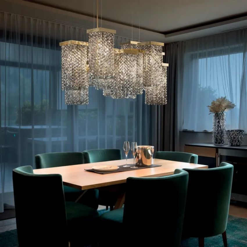 Modern Lamps Contemporary Chandelier, Contemporary Chandeliers For Dining Room