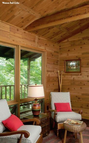 1 4 Western Red Cedar Rustic Plywood Paneling Cedar Paneling Cedar Walls Log Cabin Living