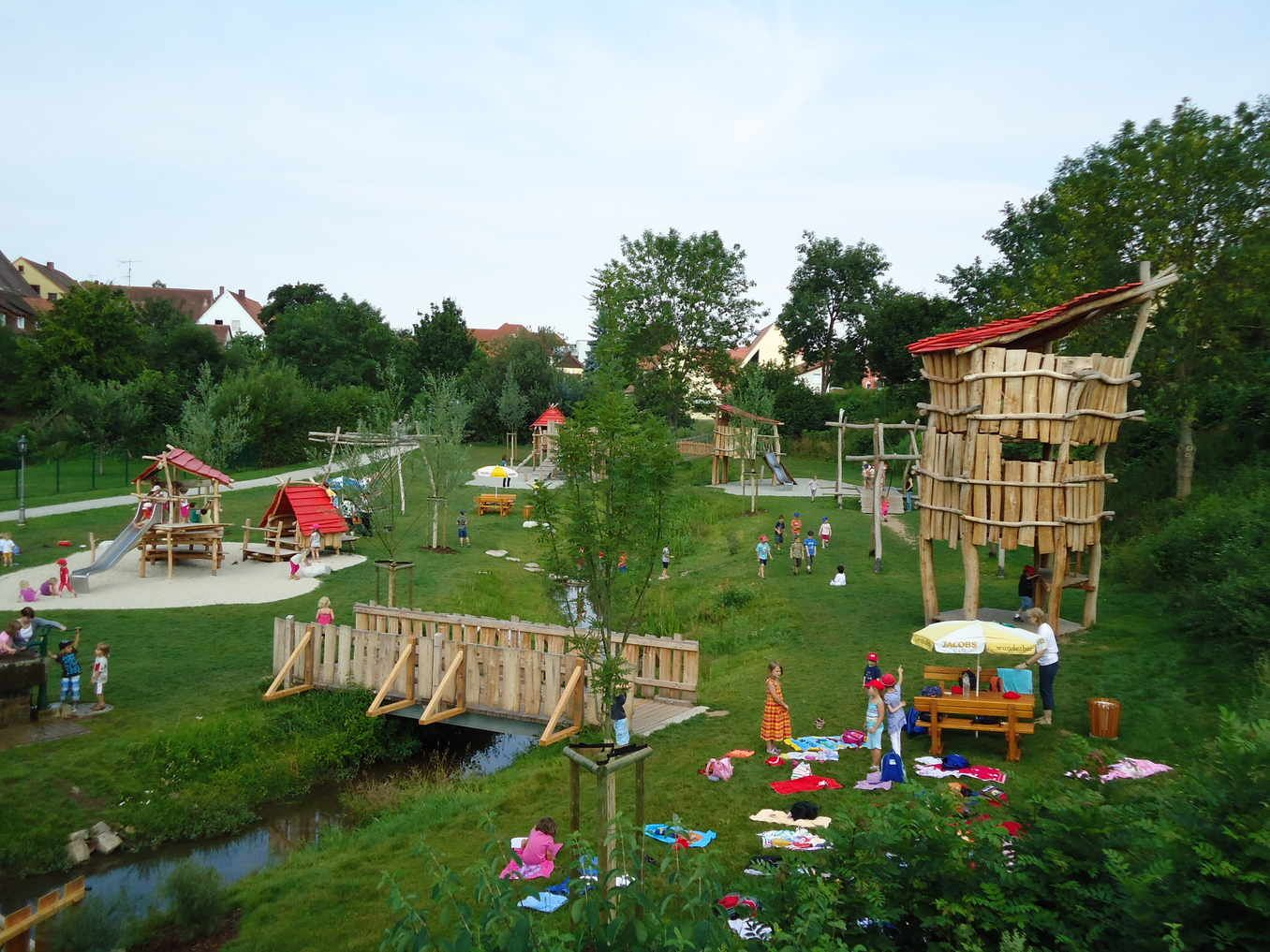 Photo of The most beautiful places for children in Bavaria: from the forest playground to the maze of hedges