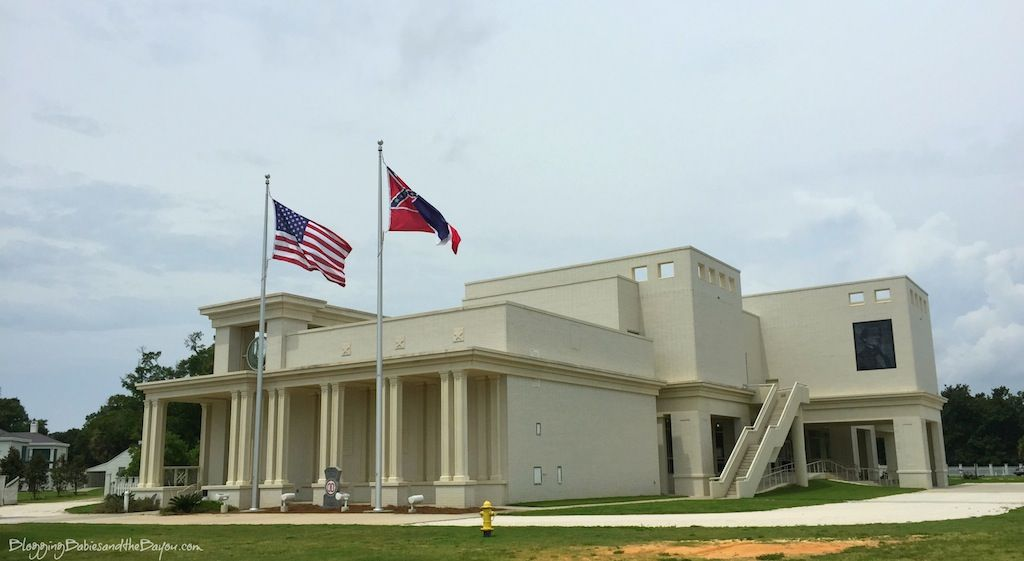 Beauvoir - Jefferson Davis Home in Biloxi Mississippi - MS Gulf Coast Travel Attraction  #BayouTravel