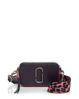 55b9822b0f3 MARC JACOBS Snapshot Color Block Saffiano Leather Camera Bag. #marcjacobs # bags #shoulder bags #leather #crossbody #animal print #
