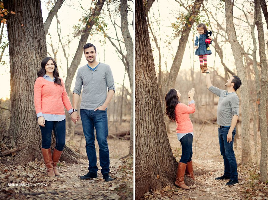 Family Photo Ideas In The Woods