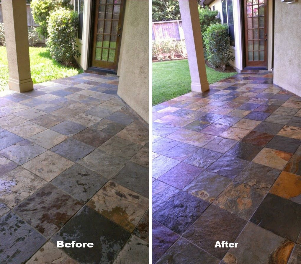 Stone Sealing Dallas With Images Patio Stones Flagstone Tile