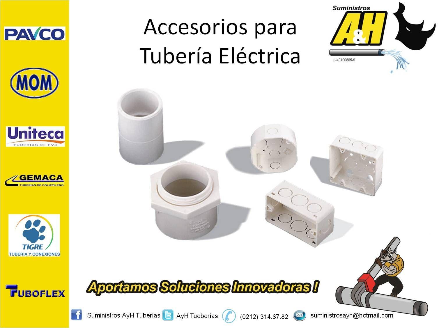 Accesorios para Tubería Eléctrica   Tuberias y Conexiones ...