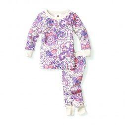 d761219aeecb Henna Paisley Baby Pajamas for Girls