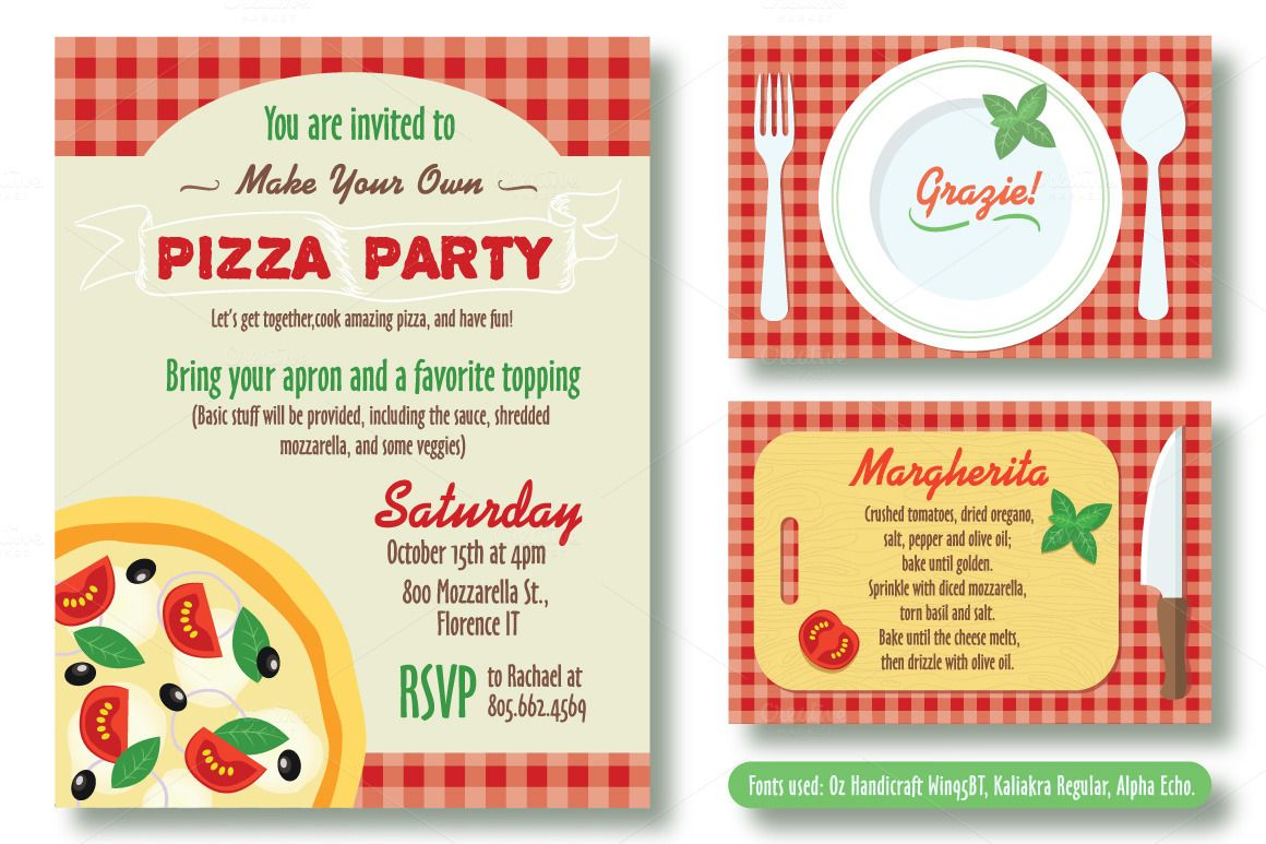 Editable Pizza Party Invitation In 2020 Pizza Party Invitations Party Invite Template Pizza Party