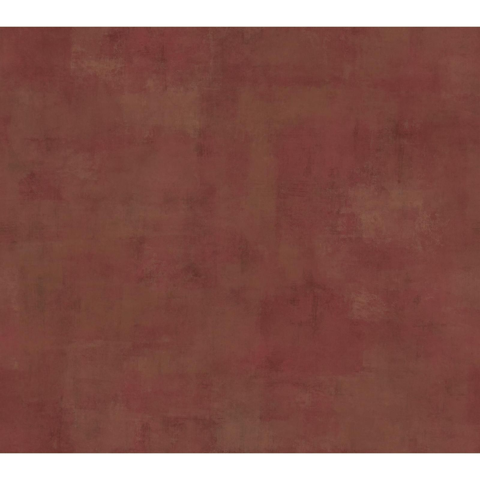 York Wallcoverings Red Stucco Texture Wallpaper in Red Deep