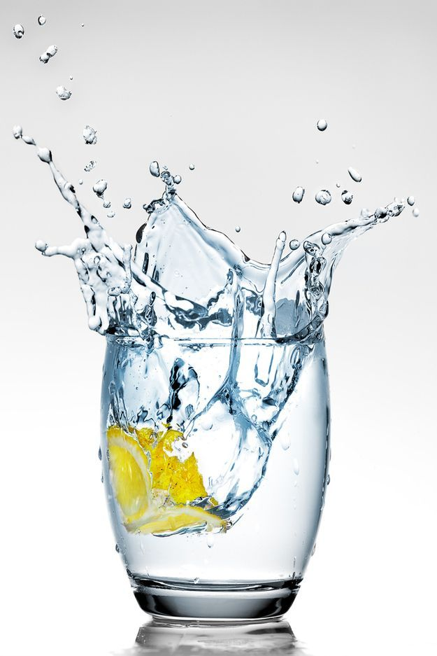 drink a glass of water before eating.