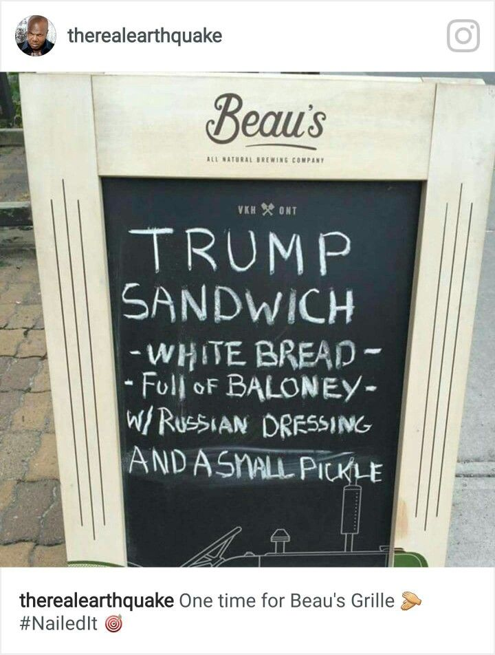 Pin By Christine Katsaitis On Funny Quips Trump Sandwich Funny Trump Memes Trump Memes